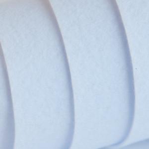 Корейский жесткий фетр цв.801, белый,  толщина 1,2 мм, ...