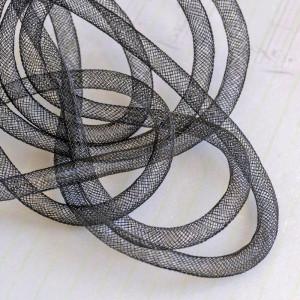 Ювелирная сетка, черный, 8 мм...