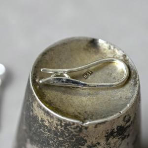 Швензы (основы для сережек), серебро, 20.5x8.5х1 мм...