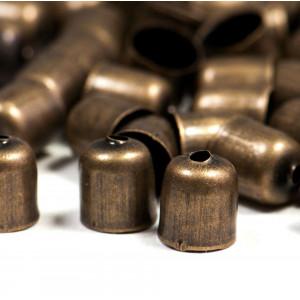 Концевик для шнура, бронза, 7x6 мм...