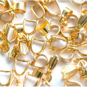 Бейл декоративный, золото, 15 мм...