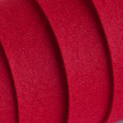 Корейский жесткий фетр цв.912, темно-красный, толщина 1,2 мм, погонный метр шириной 1,1 м