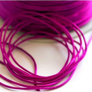 Атласный шнур для кумихимо, фуксия, 1 мм (4 м)...