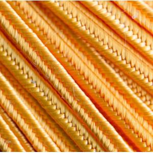 Сутаж, светло-оранжевый, 3х1 мм (5 м)...