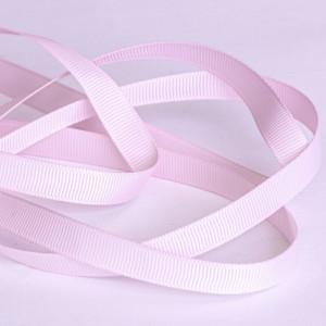 Репсовая лента, бледно-розовый, ширина 9,5 мм...