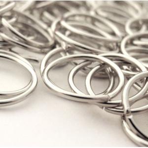 Колечко соединительное 10мм, цвет серебро, 10 мм (60 шт...