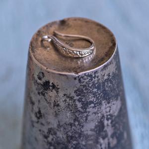 Швензы (основы для сережек), цв. платина, 15х9х2 мм...