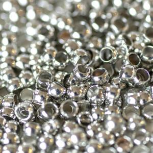 Кримп (стоппер), платина, 2х1.2 мм (уп 4 г -  120 шт)...