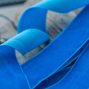 Бархатная лента, темно-голубой, ширина 19 мм...
